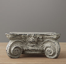 Cast Iron Capital Pedestal