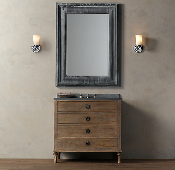 Restoration Hardware Bathroom Vanity Knockoff: Maison Single Vanity