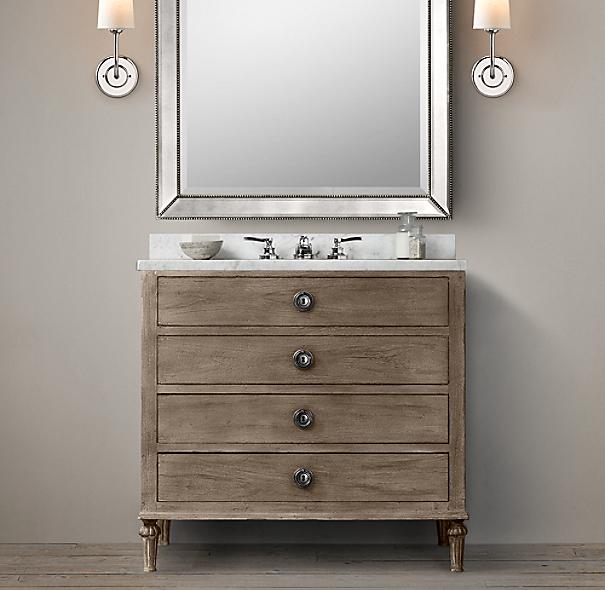 maison single vanity. Black Bedroom Furniture Sets. Home Design Ideas