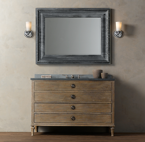 Maison Extra Wide Single Vanity Sink
