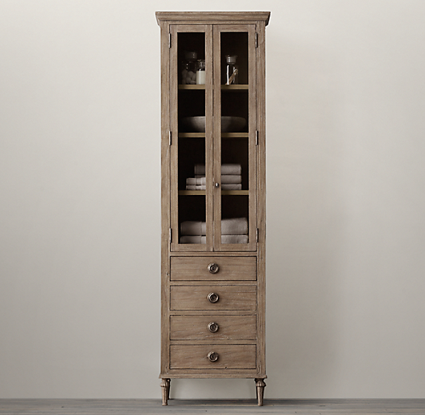 Restoration Hardware Kitchen Cabinets: Maison Tall Bath Cabinet