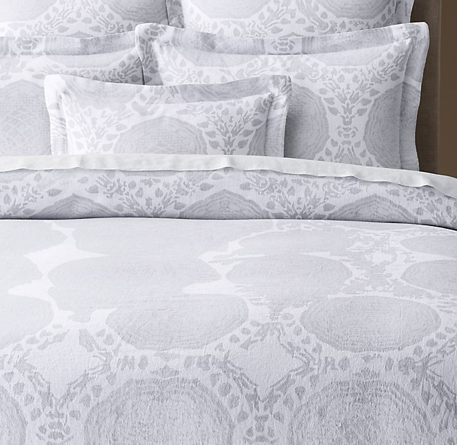 Find Many Great New Used Options And Get The Best Deals For Restoration Hardware Stonewashed Belgian Linen King Duvet Cover Mist Gray At