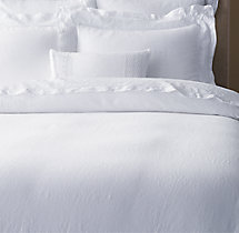 Italian Tombolo Braided Lace Linen Duvet Cover