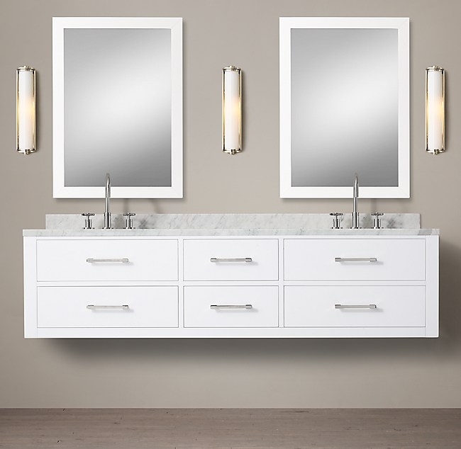 Hutton Double Floating Vanity