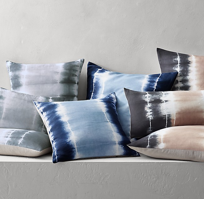 shibori pillow cover pbteen pillows c products floral euro ivivva