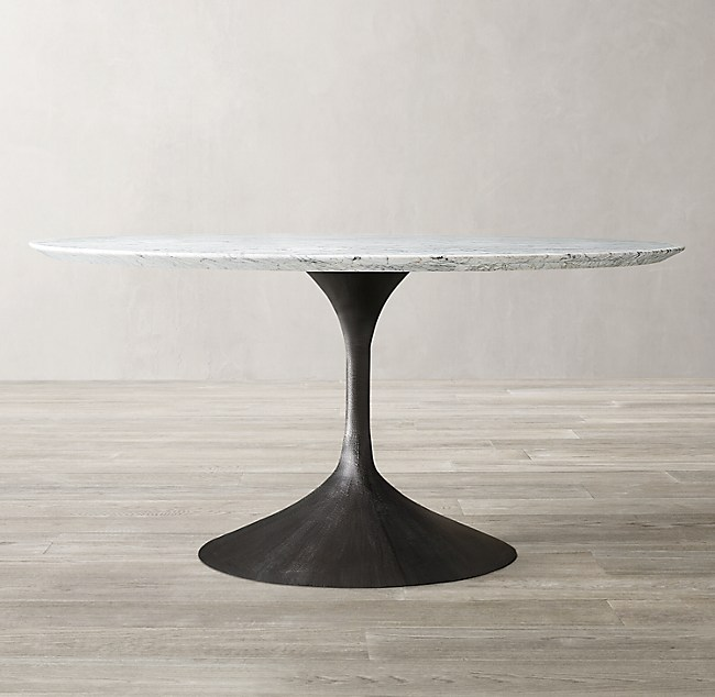 Real Marble Round Coffee Table
