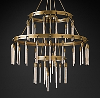 Designer Love Tier Chandelier
