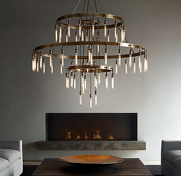 Axis 3 Tier Chandelier 72 Quot