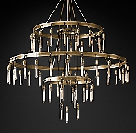 Axis 3 Tier Chandelier By Restoration Hardware 7895