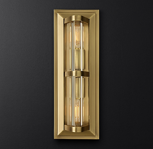 Brass Outdoor Lighting Fixtures All outdoor lighting rh modern more finishes workwithnaturefo