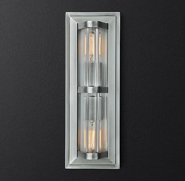 new product 57b27 1caf3 Ascenseur 2-Light Sconce