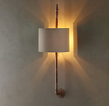 Brittany Architectural Railing Sconce
