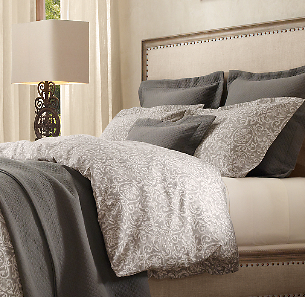 Restoration Hardware Bedroom Colors Cute Black And White Bedroom Ideas Little Boy Bedroom Furniture Girls Bedroom Colour Ideas: Italian Vintage Baroque Duvet Cover