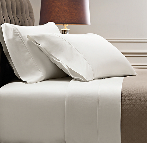 Italian Vintage Washed 464 Thread Count Percale Bedding