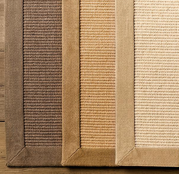 Belgian Wool Sisal Rug Swatch