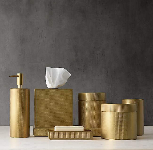 Laval Bath Accessories   Aged Brass. Bath Accessories   Aged Brass