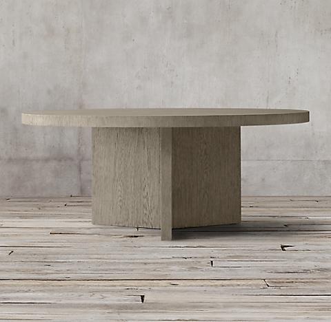 Ludlow Rectangular Dining Table Ash Grey Oak Rh