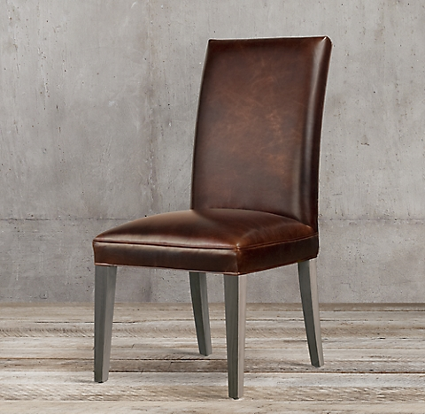 Leather Side & Arm Chairs