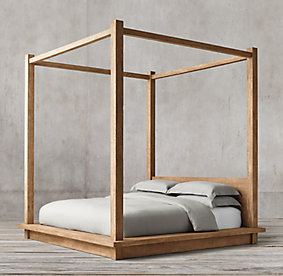 Canopy Four Poster Bed all canopy beds | rh