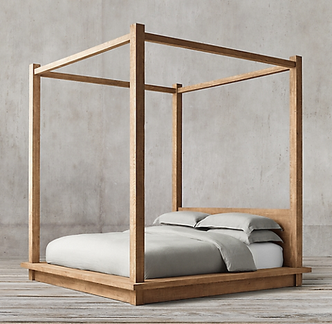 Pictures Of Canopy Beds all canopy & four- poster beds | rh