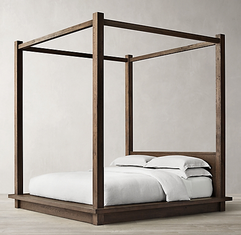 Four Post Canopy Bed all canopy & four- poster beds | rh