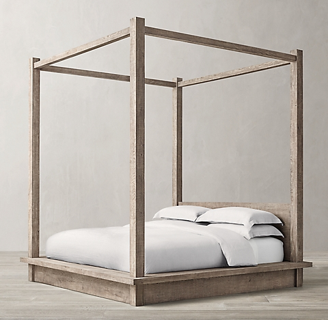 Canopy Beds all canopy & four- poster beds | rh