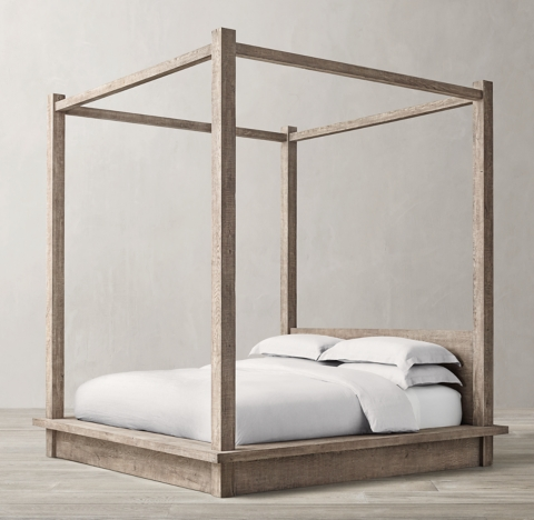All Canopy Four Poster Beds RH