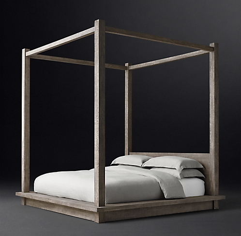 All Canopy Four Poster Beds Rh Modern