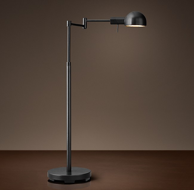 Metier Metal métier dome shade task table lamp