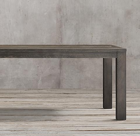 Herringbone Rectangular Dining Table