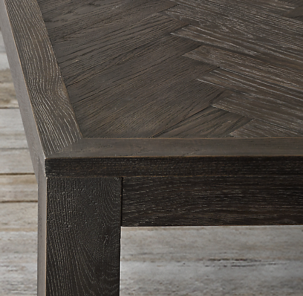 Herringbone Rectangular Dining Table