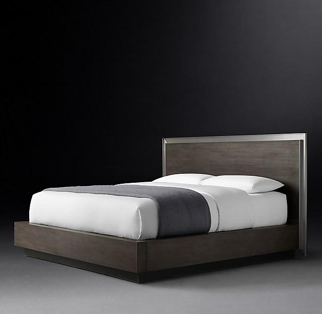 Marlow Panel Platform Bed