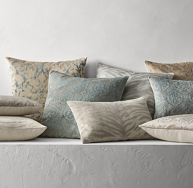 Throw Pillows Rust : Restoration Hardware Decorative Pillows Decoratingspecial.com