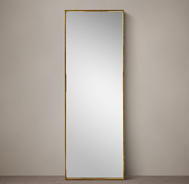 Metal Dovetail Leaner Mirror