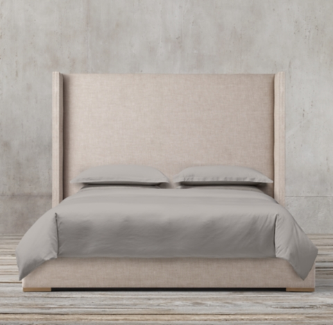 Lawson Shelter Non Tufted Fabric Bed