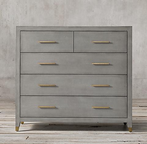 silver dresser home by bel geddes design metal norman industrial dressers product