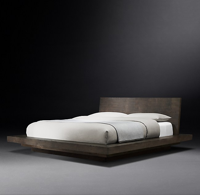 White Hall Platform Bed