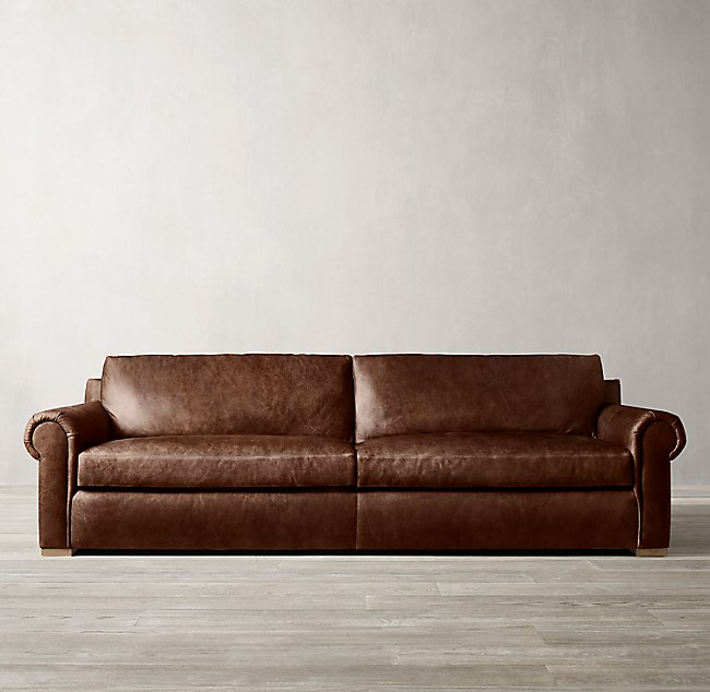 3 Depths Lancaster Leather Sofa