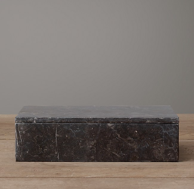 Polished Marble Box Small