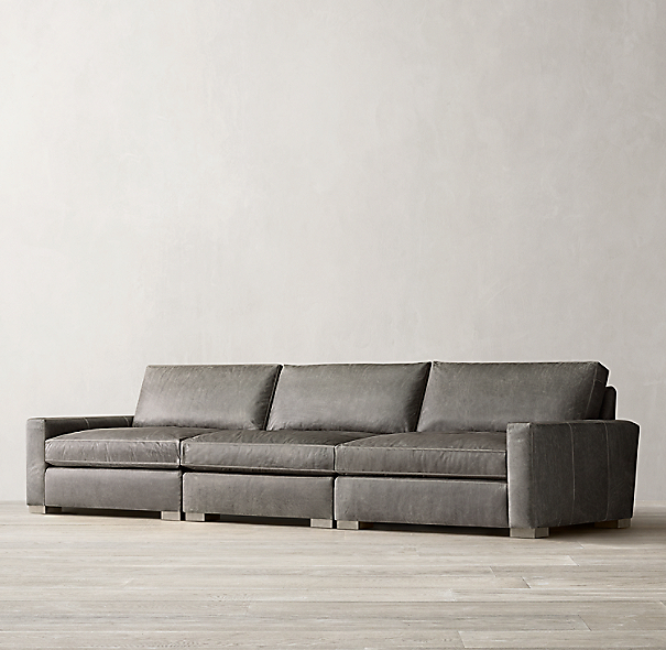 Maxwell Modular Leather Sofa
