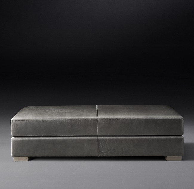 Fantastic Modena Leather Storage Ottoman Pdpeps Interior Chair Design Pdpepsorg