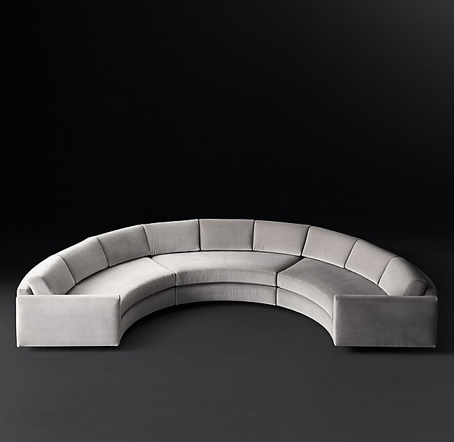 Curve Semicircle Sectional