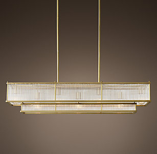 Marais Linear Chandelier Collection More Finishes