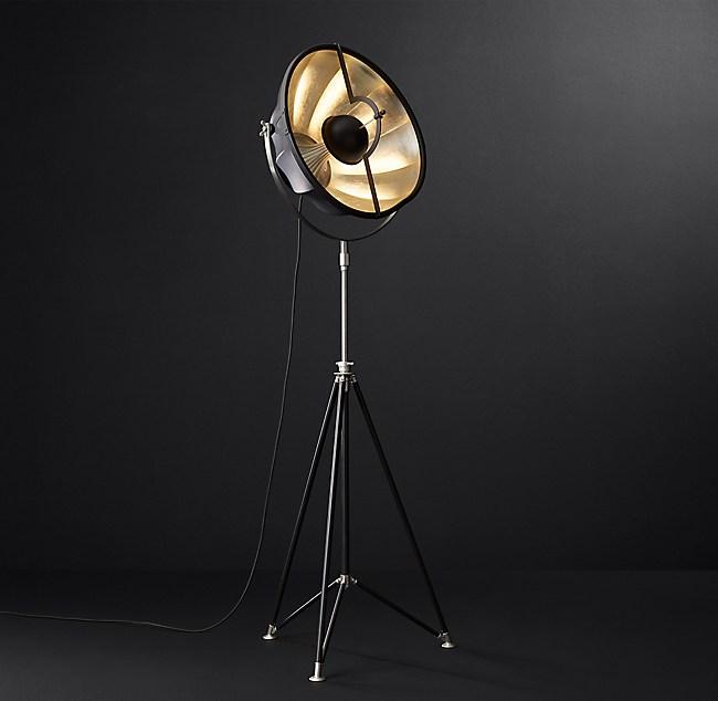 Fortuny Atelier 63 Floor Lamp White: Fortuny® Studio 63 Floor Lamp