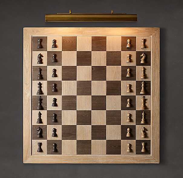 Giant Wall Chess Set