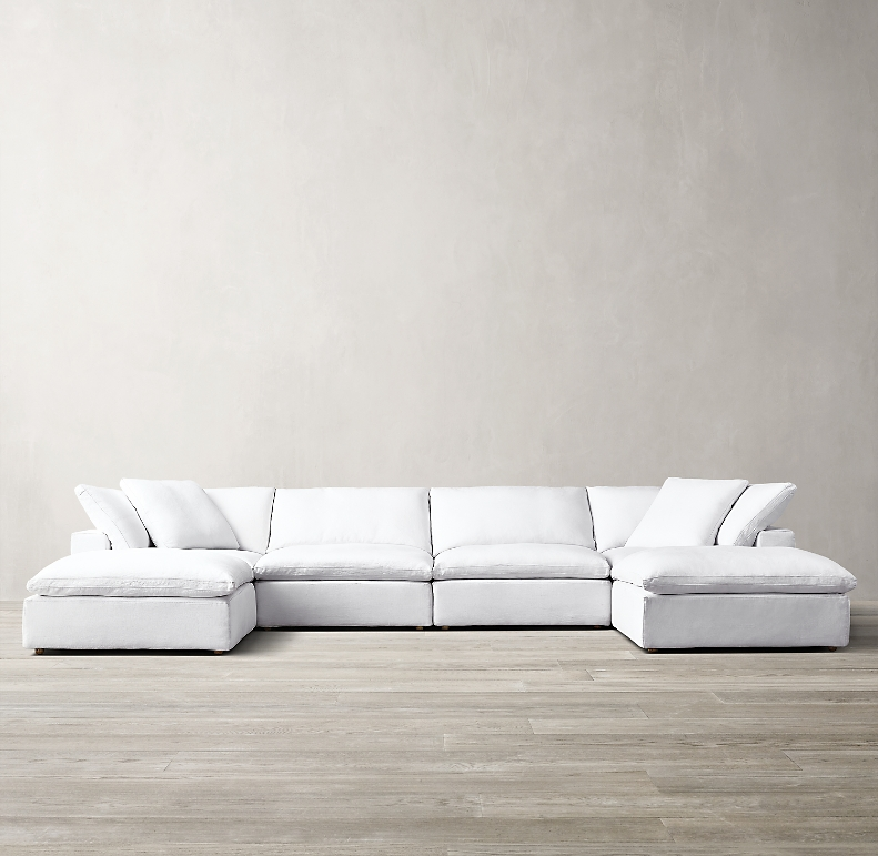 Cloud Modular Customizable Sectional