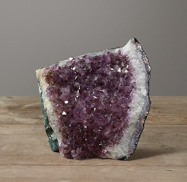 Amethyst Crystal Formation - Large