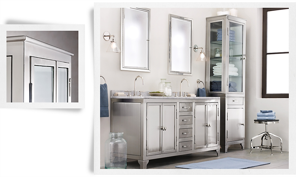 Rh - Restoration hardware bathroom cabinets ...
