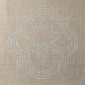 Italian Baroque Medallion Duvet Cover
