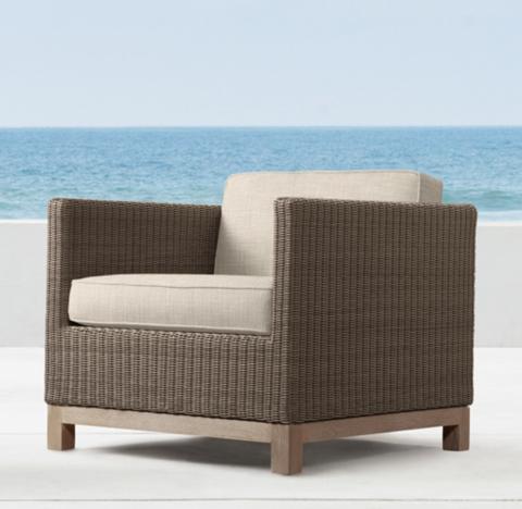 Malibu Lounge Chair - Malibu Collection RH